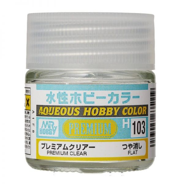 MR HOBBY H103 Premium Clear Flat Barniz Mate 10ml