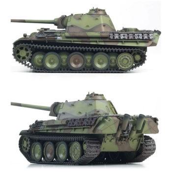 academy 13523 German Sd.Kfz.171 Pz.Kpfw.V Panther Ausf.G Last Production Kit en plástico para montar y pintar. Incluye piezas en fotograbado y cadenas por tramo y eslabón.