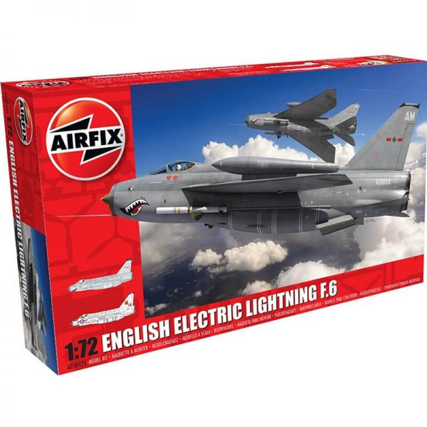 airfix a05042a English Electric Lightning F6 1/72Kit en plástico para montar y pintar.
