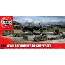 airfix a05330 WWII RAF Bomber Re-supply Set 1/72Kit en plástico para montar y pintar.