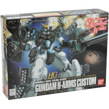 bandai 0061210 Gundam H-Arms Custom Mobile Suit XXXG 01H2Kit en plástico para montar.Inyectado en plástico de varios colores y montaje por presión.