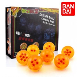 Dragon Ball Z, 7 Crystal Ball SetCaja de regalo con las 7 Bolas de Dragon de cristal de la serie.