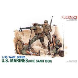 dragon 3307 U.S. Marines Khe Sanh 1968 Kit en plástico para montar y pintar
