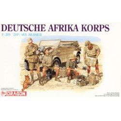 dragon 6063 Deutsche Afrika Korps Kit en plástico para montar y pintar.
