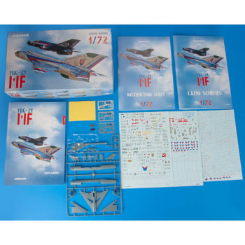 eduard 2127 MiG-21MF in Czech and Czechoslovak service 1/72 Dual Combo Limited edition