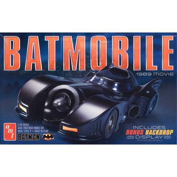 amt 935/12 Batmobile 1989 Movie 1/25Kit en plástico para montar y pintar
