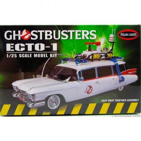 polar lights 914/12 Ghostbusters ECTO-1 1/25Kit en plástico para montar y pintar.