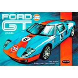 polar lights pol855/12 Ford GT 2006 1/25Kit en plástico para montar y pintar.No necesita pegamento.