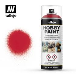 AV 28023 Rojo SanguinaColor base primario para colores de fantasía y modelismo en general.