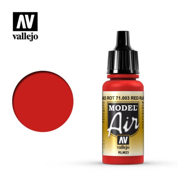 MA 71003 Rojo - RedRLM23 RotLa gama de colores Model Air ha sido desarrollada específicamente para su uso en aerografía.MA 71003 Rojo - RedRLM23 RotLa gama de colores Model Air ha sido desarrollada específicamente para su uso en aerografía.