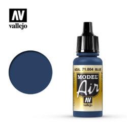 MA 71004 Azul - BlueLa gama de colores Model Air ha sido desarrollada específicamente para su uso en aerografía.