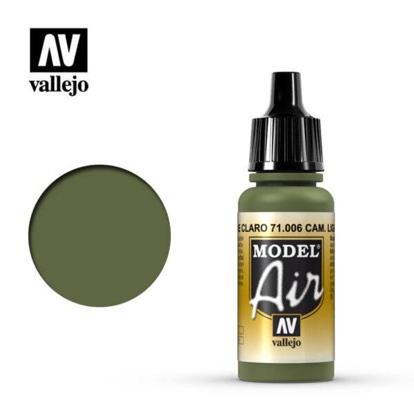 MA 71006 Verde Claro Cromo - Light Green Chrome 17mlLa gama de colores Model Air ha sido desarrollada específicamente para su uso en aerografía.
