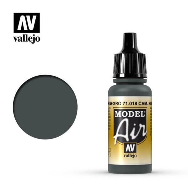 MA 71018 Cam. Verde Nrgro - Cam. Black Green 17mlLa gama de colores Model Air ha sido desarrollada específicamente para su uso en aerografía