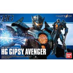 bandai- 0224497 HG Gipsy Avenger 1/144Pacific Rim Up RisingKit en plástico para montar.