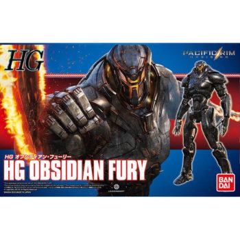 bandai 0224768 HG Obsidian Fury 1/144Pacific Rim Up RisingKit en plástico para montar.