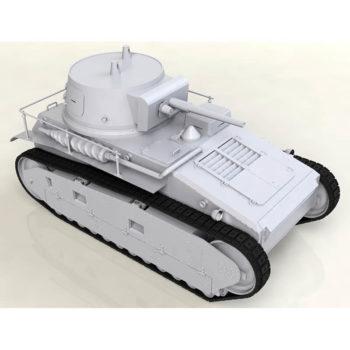 icm 35330 Leichttraktor Rheinmetall 1930 German TankKit en plástico para montar y pintar.