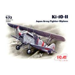 icm 72311 Ki-10-II Japan Imperial Army Biplane FighterKit en plástico para montar y pintar