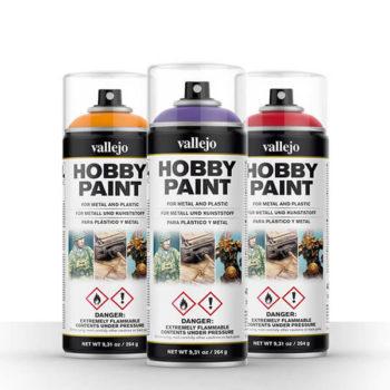 Hobby Spray Paint Acrylicos Vallejo