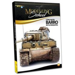 AMIG 6211 Escuela de Modelismo: Como hacer barro en tus maquetasNuevo libro de la serie Escuela de Modelismo de AmmoMig.