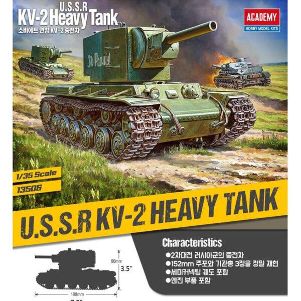 academy-13506-kv-2-heavy-tank-maqueta-1-35-detalles