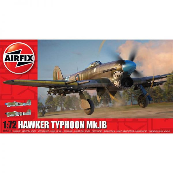 aiefix a02041 Hawker Typhoon Ib Escala 1/72