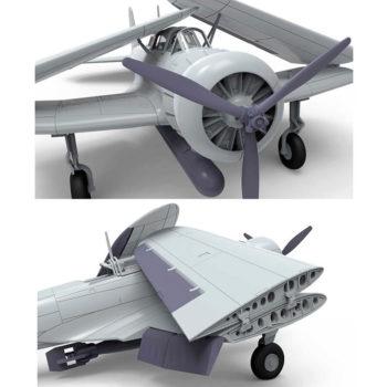 airfix a04060 Nakajima B5N1 Kate Escala 1/72