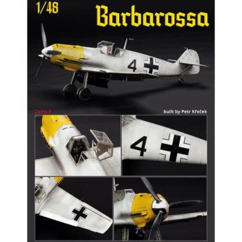 Barbarossa Bf 109E Bf 109F Dual Combo 1/48 Messerschmitt Bf 109E-4/E-7 & Bf 109F-2 en el frente del este 1941