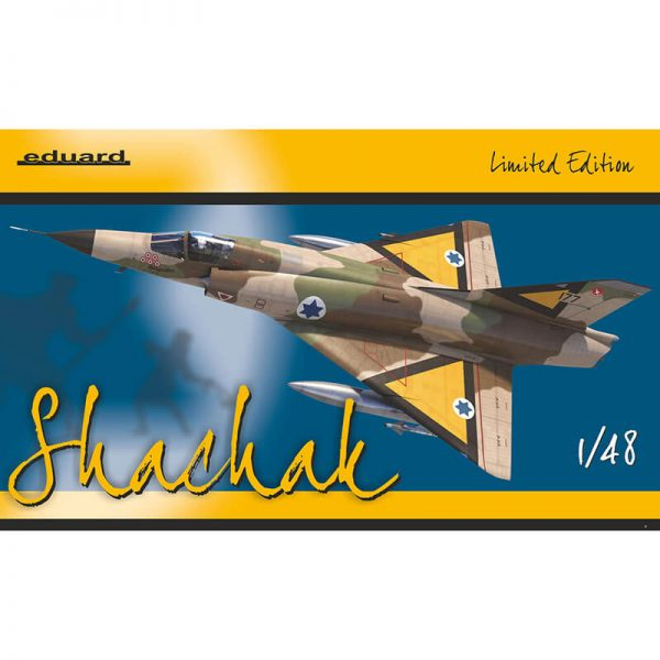 Shachak Mirage IIICJ Limited Edition 1/48 Boxart