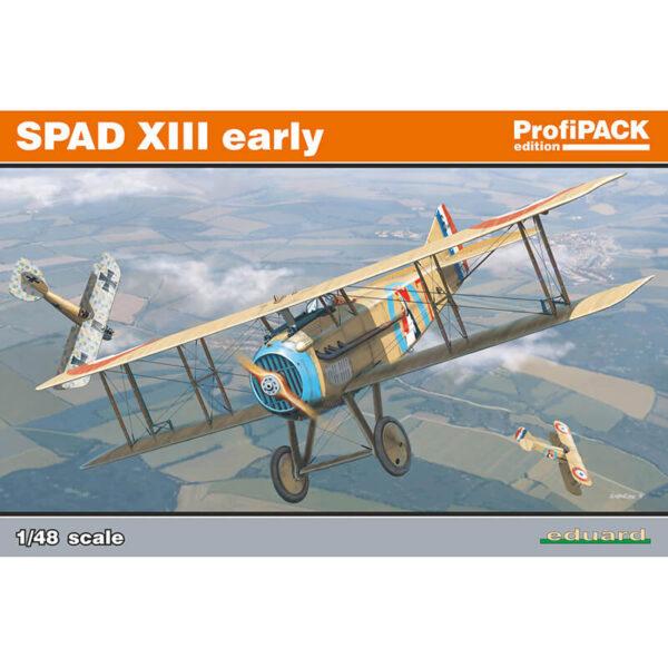 eduard 8197 SPAD XIII Early version profiPACK escala 1/48 maqueta wwi