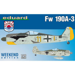 Focke Wulf Fw 190A-3 Weekend Edition 1/48 boxart