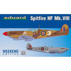 eduard 84132 Spitfire HF Mk.VIII Weekend Edition maqueta escala 1/48