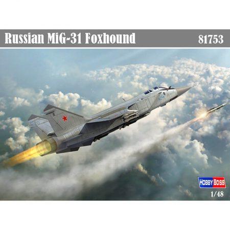 hobby boss 81753 Russian MiG-31 Foxhound Maqueta Escala 1/48