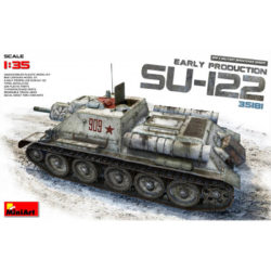 SU-122 Early Production maqueta en escala 1/35