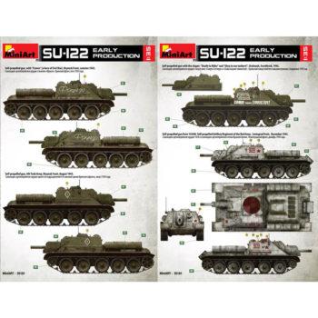 SU-122 Early Production maqueta en escala 1/35