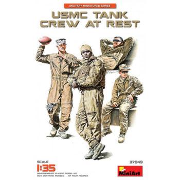 miniart 37049 USMC Tank Crew at Rest Escala 1/35
