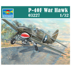 trumpeter 03227 Curtiss P-40F War Hawk escala 1/32