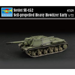 trumpeter 07129 Soviet SU-152 Self-propelled Heavy Howitzer Early maqueta escala 1/72