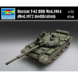 trumpeter 07148 Russian T-62 BDD Mod.1984 (Mod.1972 modification) maqueta escala 1/72