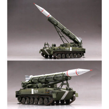 trumpeter-09545-2P16-Launcher-with-Missile-of-2k6-Luna-FROG-5-maqueta-escala-1-35-modelo Escala 1/35