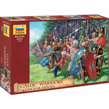 zvezda 8012 Gaellic Warriors II-I B.C Escala 1/72