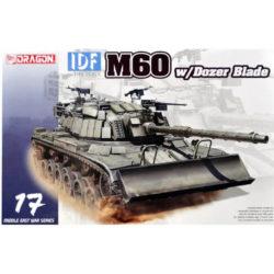 dragon 3582 IDF M60 w/Dozer Blade Middle East War Series maqueta escala 1/35