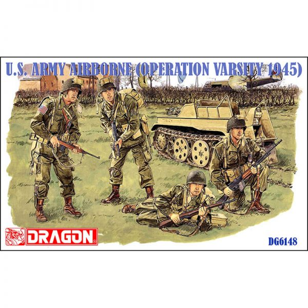 dragon 6148 U.S. Army Airborne (Operation Varsity 1945) maqueta escala 1/3