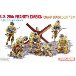 dragon 6211 U.S. 29th Infantry Division (Omaha Beach, D-Day 1944) figuras escala 1/35