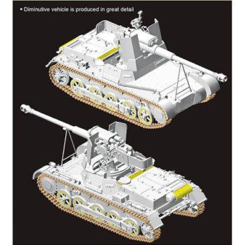 dragon 6781 Panzerjager IB mit StuK 40 L/48 w/Gun Crew maqueta escala 1/35