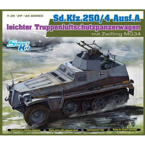 dragon 6878 Sd.Kfz.250/4 Ausf A leichter Truppenluftschutzpanzerwagen maqueta escala 1/35