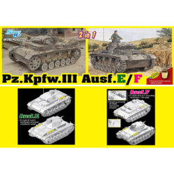 dragon 6944 Pz.Kpfw.III Ausf.E/F Smart kit 2in1 maqueta escala 1/35