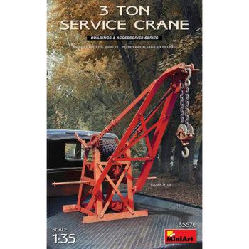 miniart 35576 3 Ton Service Crane escala 1/35