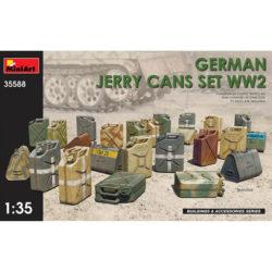 miniart 35588 German Jerry Cans Set WW2 maqueta escala 1/35