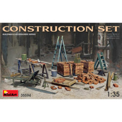 miniart 35594 Construction Set 1/35 Building & Accesories Series