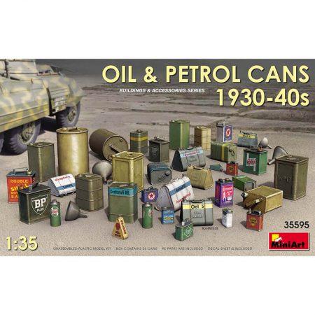 miniart 35595 Oil & Petrol Cans 1930-40s maqueta escala 1/35